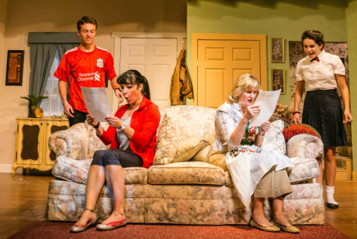 Luke Markham (Gavin Smith), Annie Ermlick (Barbara Smith), Tricia O'Neill-Politte (Mary Smith) -  Photo credit Tabitha Rymal - Vaughn