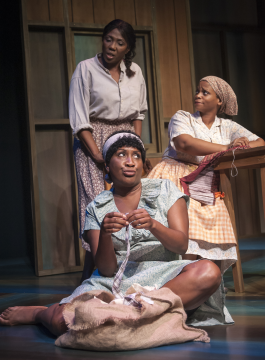 Margo Moorer (Nella), Roz White (Sadie) and Duyen Washington (Alice) - Photo credit Chris Banks