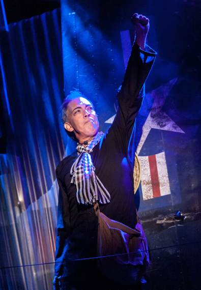 "Thom Sesma plays the French-Vietnamese club owner who refers to himself as The Engineer in ""Miss Saigon""  Photo: Christopher Mueller."