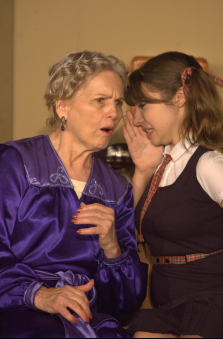 Carole Steele (Mrs. Tilford) & Katelyn Wattendorf (Mary) - photo credit to Michael deBlois.