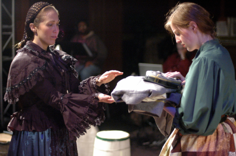 Karen Lawrence (Cecilia) & Shaina Higgins (LucyGale) - photo credit Michael deBlois