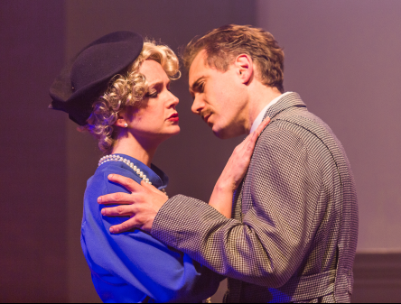 Elizabeth Keith (Pamela) and Jeff McDermott (Richard Hannay) - Photos by Keith Waters/Kx Photography