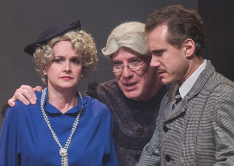 Elizabeth Keith (Pamela), Bob Cohen (Everyone else) and Jeff McDermott (Richard Hannay) -  Photos by Keith Waters/Kx Photography