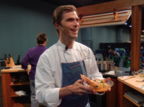 Television chef and restaurant owner Hugh Acheson