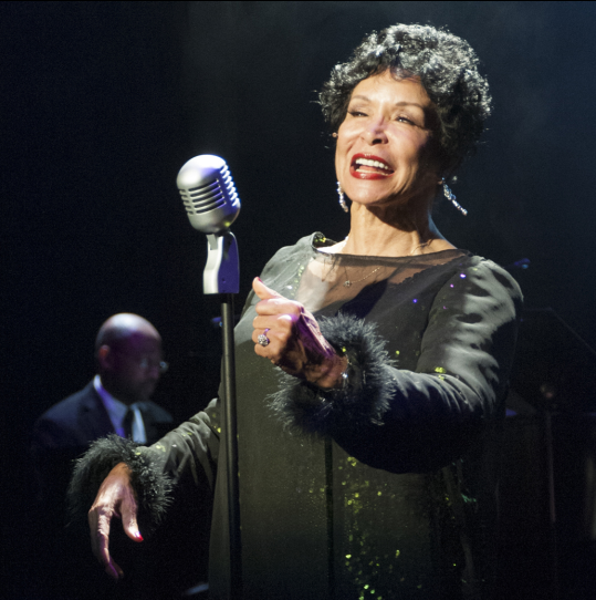 Freda Payne as Ella Fitzgerald  - photo credit Chris Banks