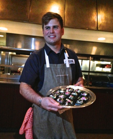 Chef Cory Bahr of Cotton Restaurant