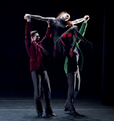Jade Payette, Jonathan Jordan and Nayon Iovino in Rooster by Theo Kossenas