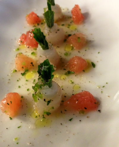 Marinated Fluke Sashimi