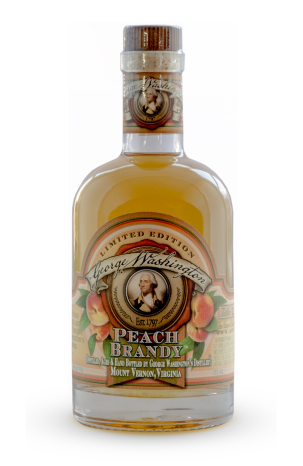 Mount Vernon Distillery -  peach brandy