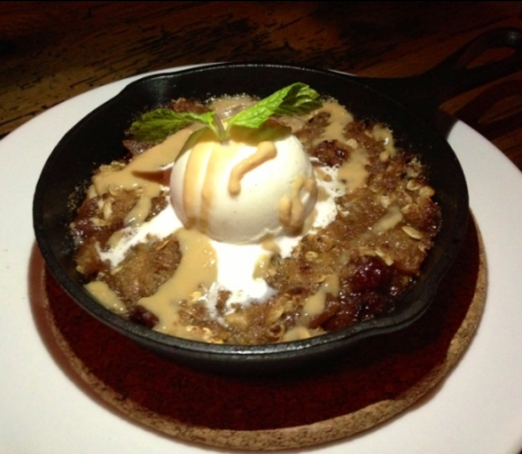 City Tap House's Skillet Apple Pie
