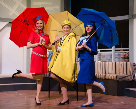 Kathleen Doyle (Gloria), Jennifer Patton (Gretchen) and Gabriela Coro (Gabriela - Photo credit Doug Olmsted