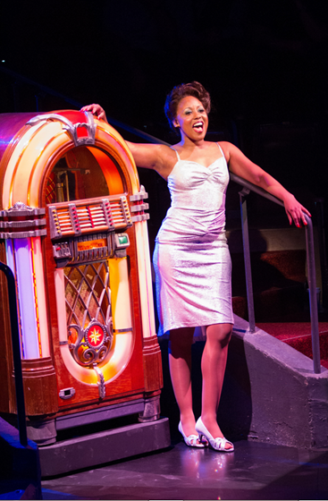 Kara-Tameika Watkins in Smokey Joe's Café—The Songs of Leiber and Stoller - Photo by Teresa Wood