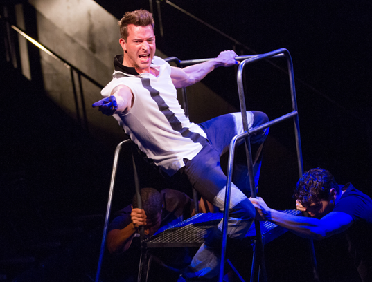 Levi Kreis in Smokey Joe's Café—The Songs of Leiber and Stoller  - Photo by Teresa Wood.