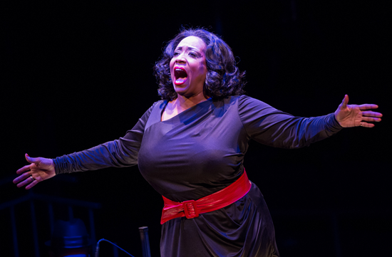 E. Faye Butler in Smokey Joe's Café—The Songs of Leiber and Stoller - Photo by Teresa Wood.