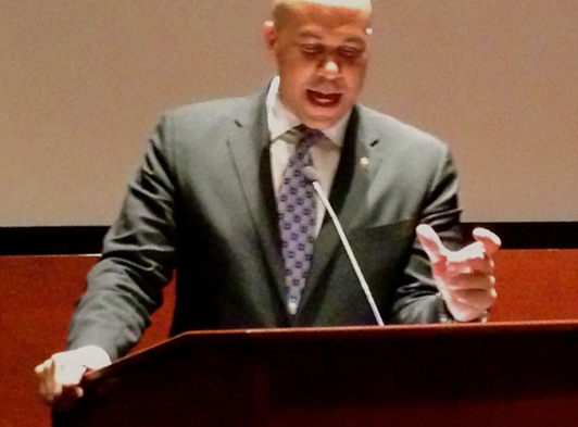 Senator Cory Booker introduces the film