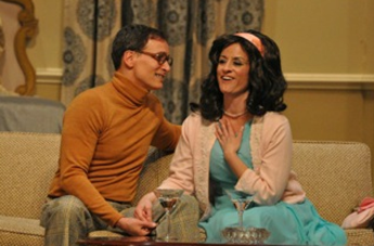 Richard Isaacs as Jesse Kiplinger romances Shelagh Roberts as Muriel Tate - photo credit to Matthew Randall.
