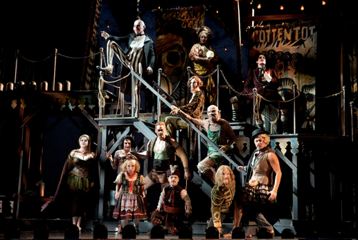 The company of the Kennedy Center production of Side Show. Photo by Joan Marcus