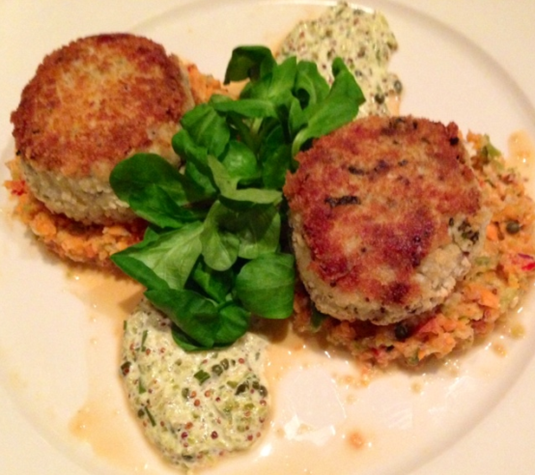 Jumbo Lump Crab Cakes at The Bridge