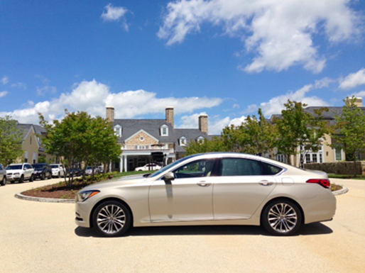2015 Hyundai Genesis at Salamander Resort & Spa