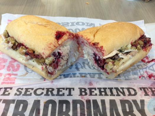 """""""Bobbie"""" sub sandwitch"""