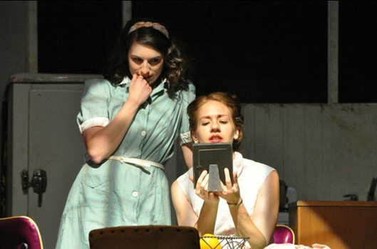 Anna Fagan (Stella) and Jennifer Berry (Blanche) - Photo credit Matthew Randall