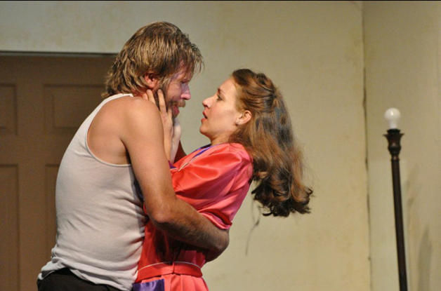 Marshall Shirley (Mitch) and Jennifer Berry (Blanche) - Photo credit Matthew Randall