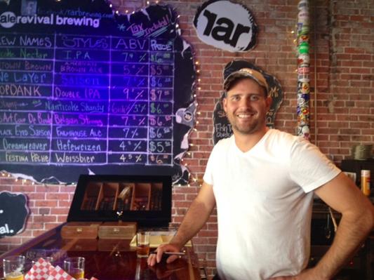 J. T. Merryweather of Reale Revival Brewery