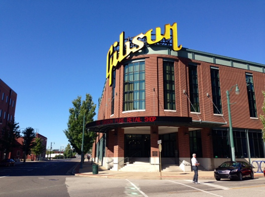 The Gibson Guitar Factory and Museum