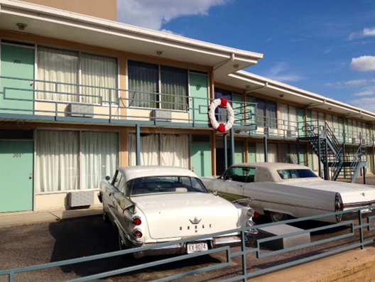 The Lorraine Motel - scene of Martin Luther King, Jr.'s assassination