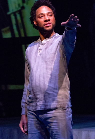 Ricardo Frederick Evans in Our War - Photo by Teresa Wood.