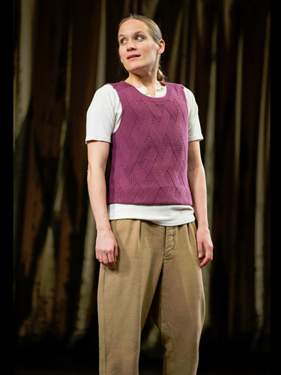 Zoë Waites as Rosalind in the Shakespeare Theatre Company production of William Shakespeare's As You Like It, directed by Michael Attenborough. Photo by Scott Suchman.