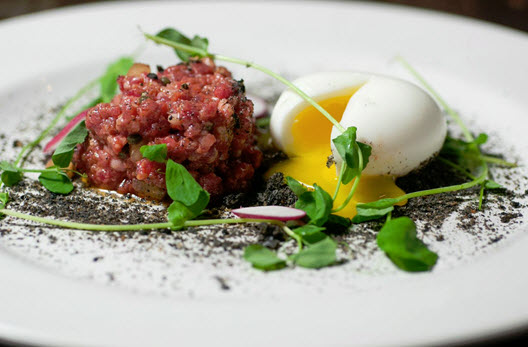 Beef Tartare from Lee Gregory and Thomas Leggett of The Roosevelt