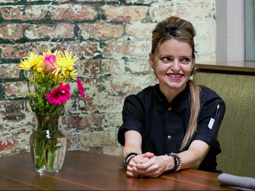 Pastry Chef Giane Cavaliere of Rogue 24
