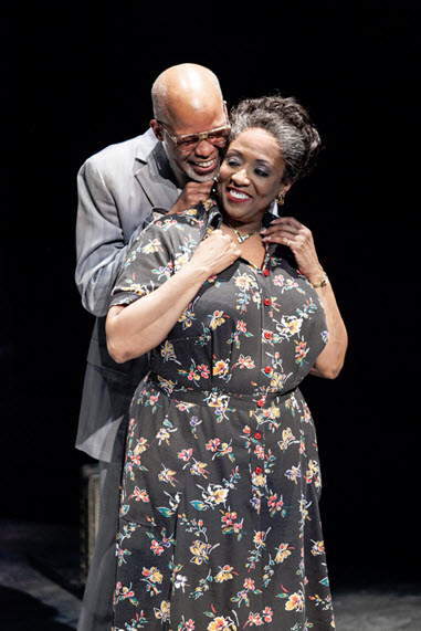 (L to R) Michael Anthony Williams as Elmore and E. Faye Butler as Ruby in King Hedley II -  Photo by C. Stanley Photography.