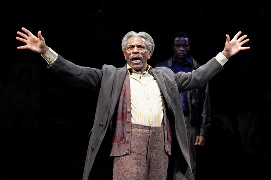 André De Shields as Stool Pigeon in King Hedley II - Photo by C. Stanley Photography.