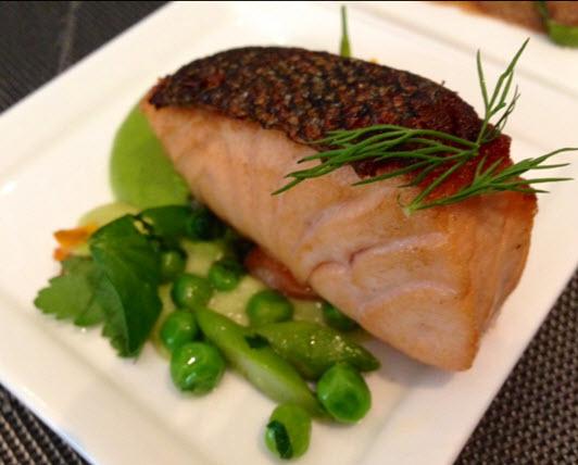 Atlantic Salmon 'Mi-Cuit'