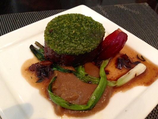 Herb Crusted Lamb Loin