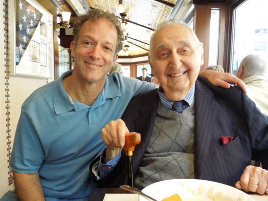 Erik Greenberg Anjou and Fyvush Finkel