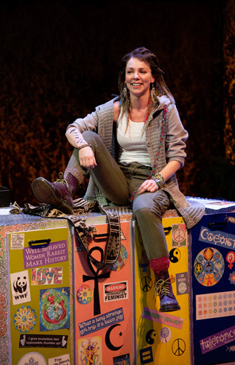 Sarah Litzsinger (Emily) in Kid Victory - Photo by Margot Schulman.