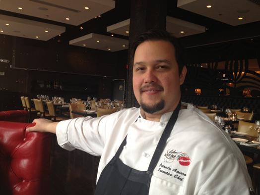 Executive Chef Orlando Amaro