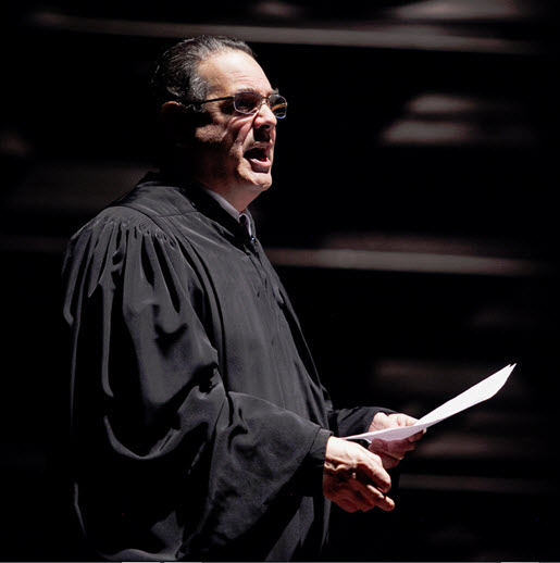 Edward Gero as Supreme Court Justice Antonin Scalia in The Originalist.  Photo by C. Stanley Photography.