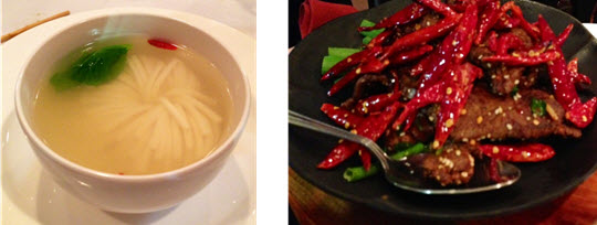 Daisy Tofu Soup - Stir-fried Beef with Chili Peppers