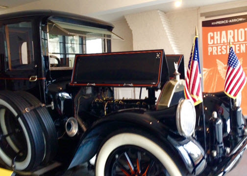 1919 Pierce-Arrow presidential limousine