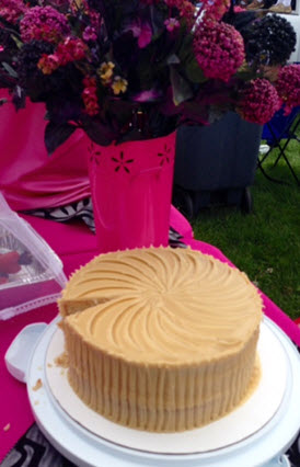 Caramel cake from 50 Shades