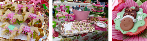 Sylvia Sosa's Pink & Green theme