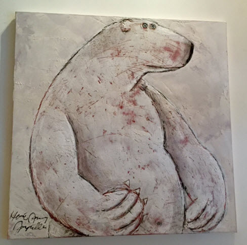 One of Hervé Maury's Polar Bears