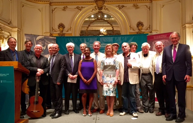 Ambassador Anne Anderson and participants at the Cosmos Club on Bloomsday