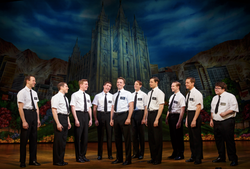 THE BOOK OF MORMON National Tour Company Photo credit Joan Marcus