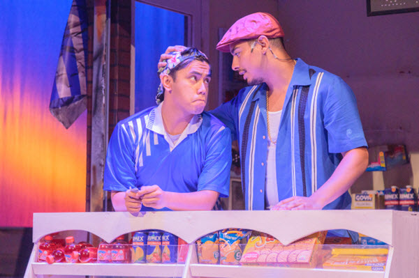 Left to Right: Joey Ledonio (Sonny), Andres Alejandro Ponce (Usnavi De La Vega) - Photos by Keith Waters / Kx Photography