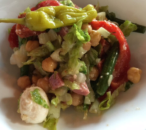 Antipasto Chopped Salad at Blackwall Hitch